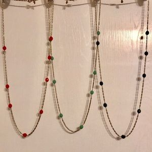 Jcrew necklaces, lot of 3